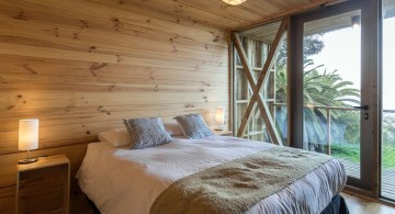 Hostal Ritoque Chile bedroom