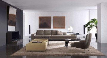 Italian Sofa Brands in Minimalist Design