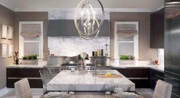 Kitchen island pendant lighting ideas big globe