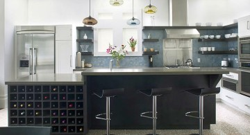 Kitchen island pendant lighting ideas colorful