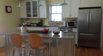 Kitchen island pendant lighting ideas small and retro