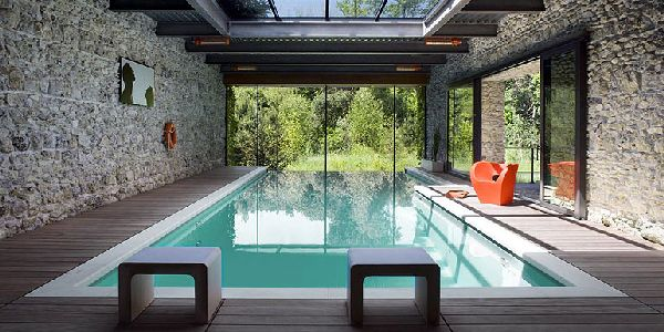 18 Gorgeous Small Enclosed Swimming Pool Designs