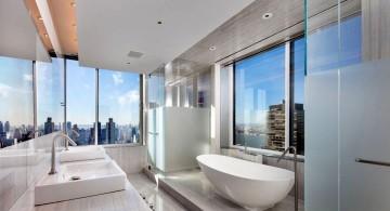 Manhattan Penthouse bathroom