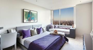 Manhattan Penthouse guest bedroom