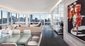 Manhattan Penthouse hallway