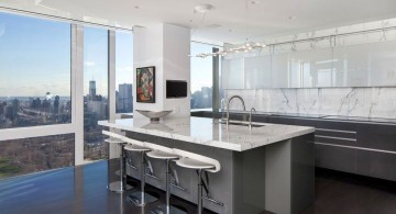 Manhattan Penthouse kitchen