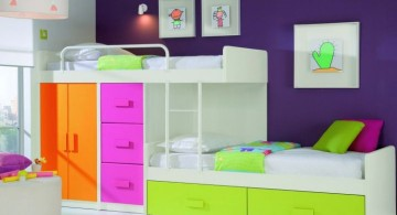 Modern Bunkbed with storage