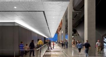 National September Eleven Museum ribbon hallway