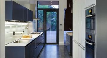 Sleek dark Grey Kitchen Ideas