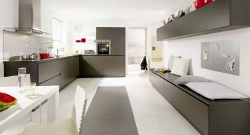White and Grey Kitchen Ideas