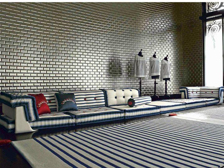 artful mah jong sofa