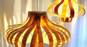 balooned pendant light diy