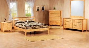 bare minimalist retro bedroom ideas