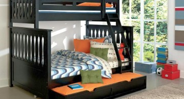 bunk bed for adults for three