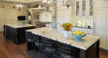 classic chandelier Kitchen island pendant lighting ideas