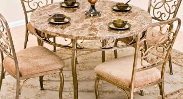 classy granite dining room table