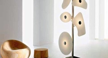 contemporary huge floor lamp