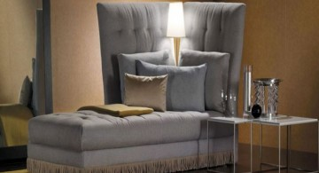 contemporary settee Italian furniture maker