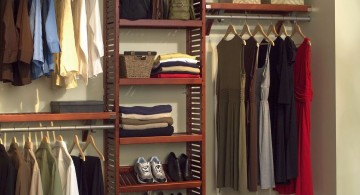 contemporary walk in closet furniture