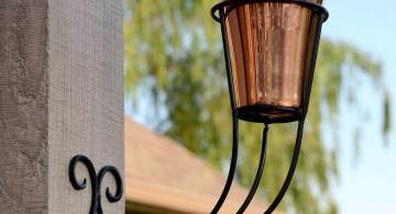 cool tiki torches with unique stand