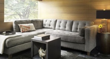 cozy small sitting room ideas in grey