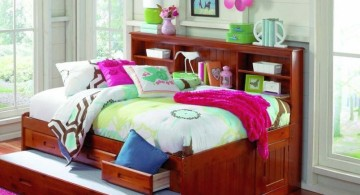 cozy unique trundle beds for girls bedroom