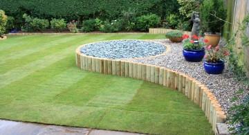 cute minimalist simple rock garden ideas