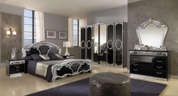 elegant Gothic bedrooms