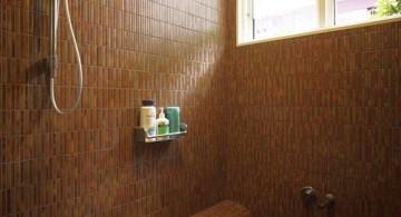 elegant brown bathrooms