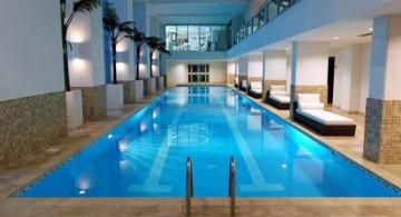 featured image of elegant indoor lap pool designs