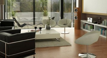 featured image of modern minimalist living room idea for small space