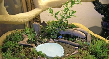 featured image of plush and green mini japanese garden design idea