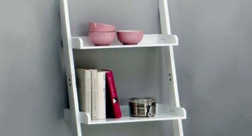 featured image of short white display ladder design for a nice little interior touch-up