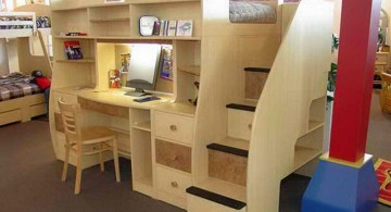 feminine desk bed for adults with platform