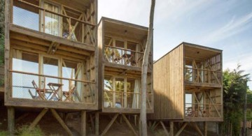 front view of Hostal Ritoque, Chile by Alejandro Soffia