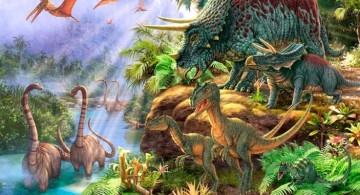 gorgeous dinosaur wallpaper mural
