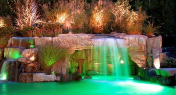 gorgeous pool waterfall ideas
