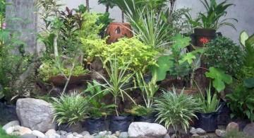 gorgeous small rock garden designs