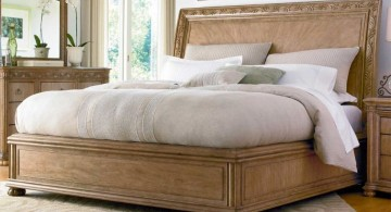 how to make a sleigh bed minimalist modern