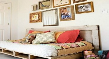 how to make daybed with wood plate
