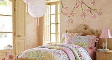 japanese theme room for girls bedroom with Sakura