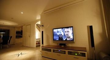 living room tv ideas for basement