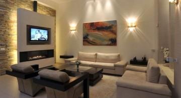 living room tv ideas with modular sofas