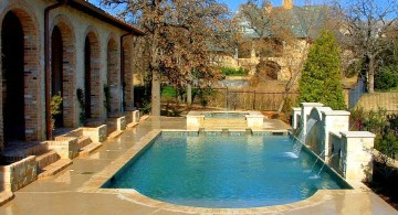 luxurious pool for small yard