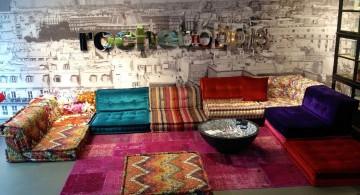 mah jong sofa for basement living rooms