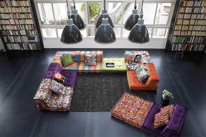 mah jong sofa for reading room