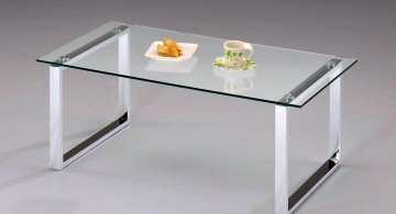 minimalis squared legs acrylic cocktail table
