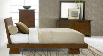minimalist Asian bedroom