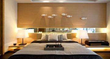 minimalist asian inspired bedroom