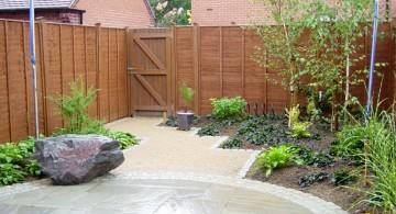 minimalist backyard Japanese landscape design